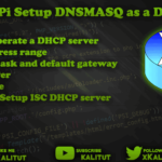 Setup DNSMASQ as a DHCP server