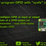 Control Raspberry Pi GPIO with sysfs