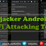 Hijacker Android WiFi Attacking Tool