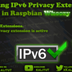 Enable IPv6 Privacy Extensions in Raspbian Wheezy