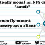 mount an NFS directory with autofs