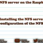Setup NFS server on Raspberry Pi