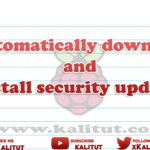 Automatically install Raspberry Pi security updates