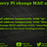 Change Raspberry Pi MAC address