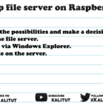 Raspberry pi file server Setup