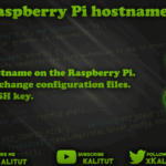 raspberry pi change hostname correctly