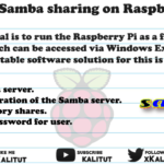 install samba sharing on Raspberry Pi