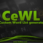 How to use cewl in Kali Linux- Custom Word List generator