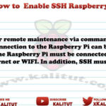 How to enable ssh on raspberry pi
