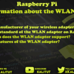 Get information about wifi adapter