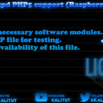 lighttpd enable php5 support (Raspberry Pi)