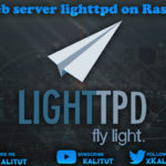 install lighttpd web server on Raspberry Pi