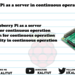 Raspberry Pi as a server in continuous operation (24/7)
