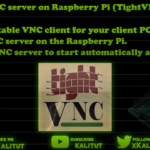 How to install vnc server on raspberry pi