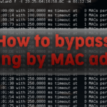 How to bypass MAC address filtering