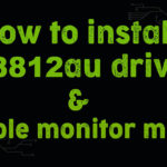 how to install rtl8812au driver
