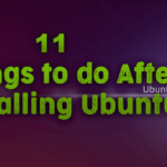 Things to do After Installing Ubuntu 19.04