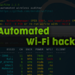 WiFite2 Automated WiFi hacking tool