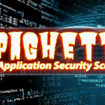 Spaghetti - Web Application Security Scanner v0.1.1