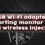USB Monitor Mode wifi adapter with wireless injection support