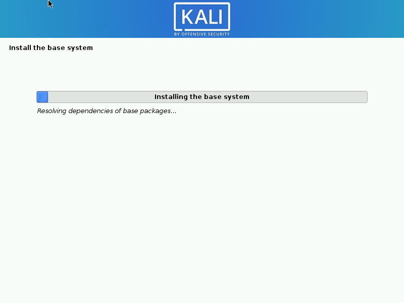 install kali linux to hard disk